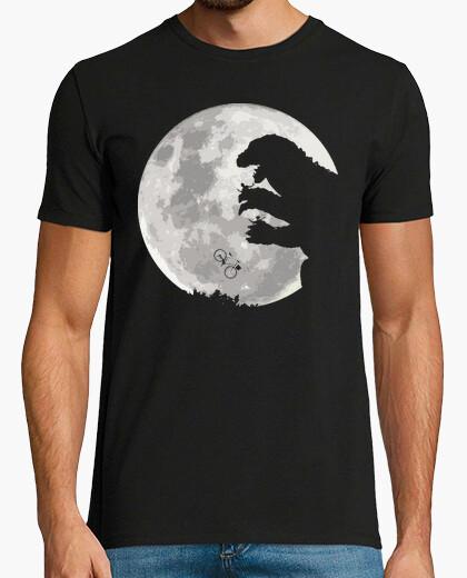 Camiseta ET vs Godzilla