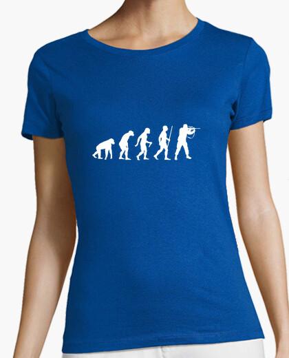 Tee-shirt étape de l'évolution du chasseur