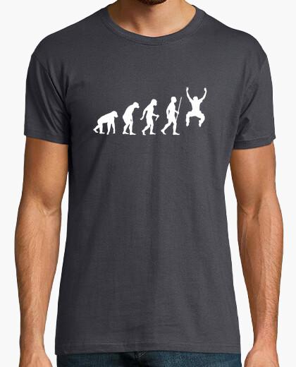 Tee-shirt étape d'évolution du saut