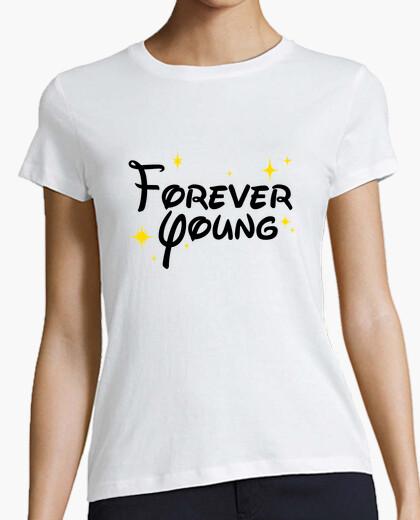 Tee-shirt éternellement jeune disney
