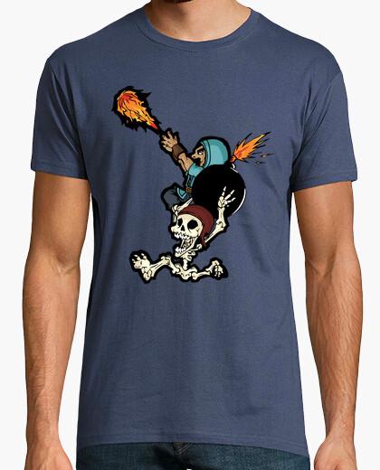 Camiseta etiqueta de equipo