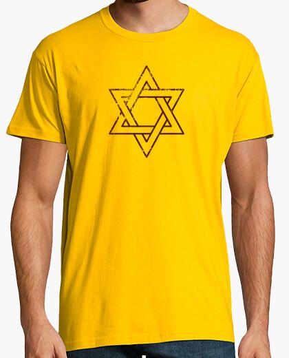 Etoile de david - brown t-shirt