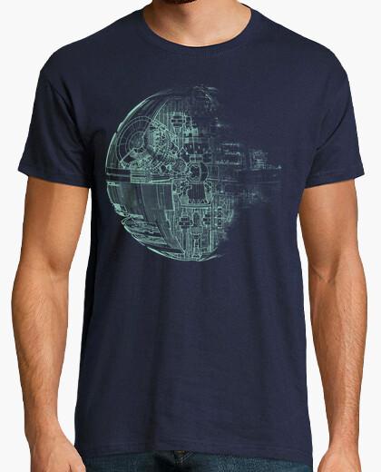 Tee-shirt Etoile de la mort verte