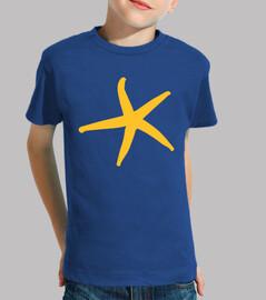 étoile de mer jaune