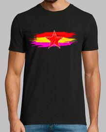 étoile rouge drapeau république