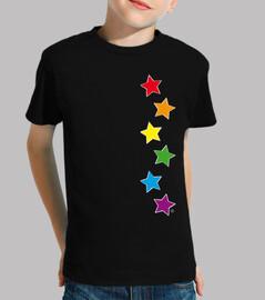 étoiles arc-en-ciel