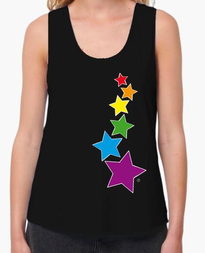 Tee-shirt étoiles arc-en-ii