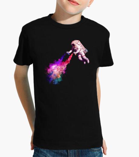 Vêtements enfant étoiles filantes chemise enfants