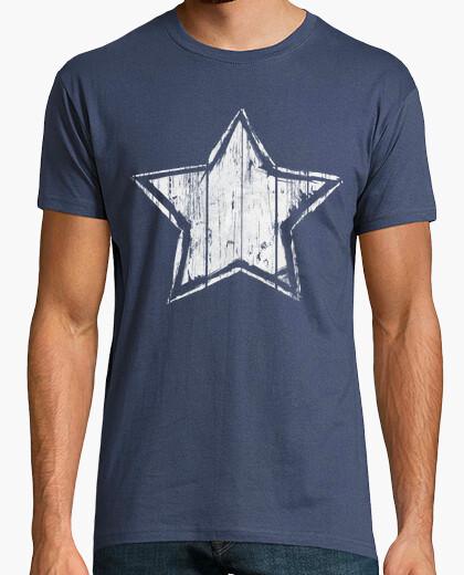 Tee-shirt étoiles ultra grunge - silver edition