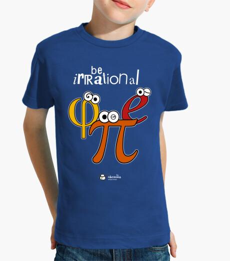 Vêtements enfant être φ irrationnel et π (fond sombre)