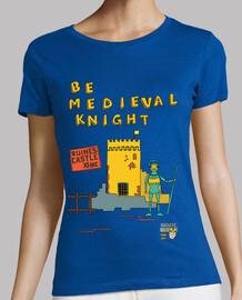 être chevalier médiéval | les femmes à manches courtes