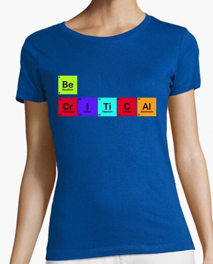 Tee-shirt être critique