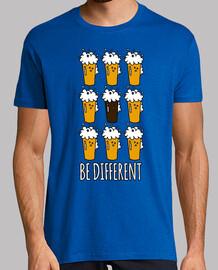 être différentes bières