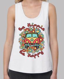 être heureux hippie van être