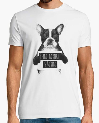 Tee-shirt être ordinaire est ennuyeux