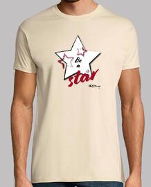 être un homme t-shirt star