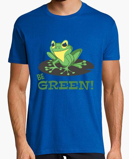 Tee-shirt être vert