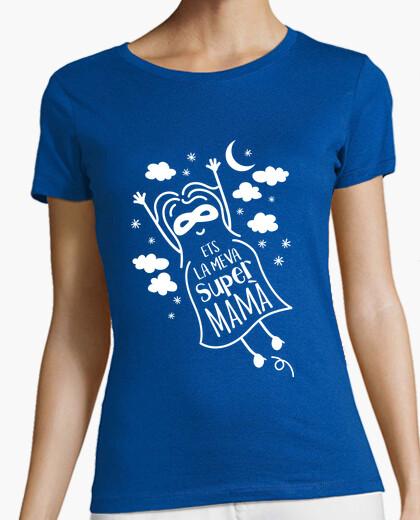 Tee-shirt ets the mema supermamà (chat)