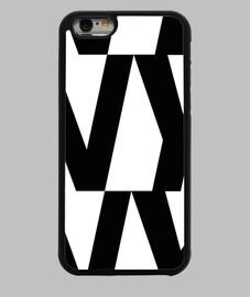 étui iphone 6, noir ny