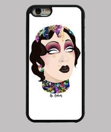 étui iphone violet chachki