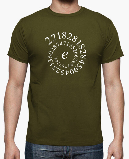 Euler - number and t-shirt