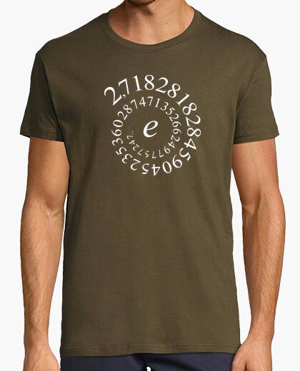 T-shirt euler - numero e