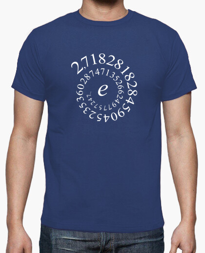Euler number t-shirt