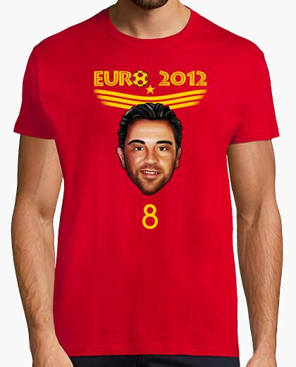 Camiseta Eurocopa 2012 Xavi Hernandez