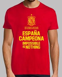 Eurocopa 2016 España Campeona (Hombre)