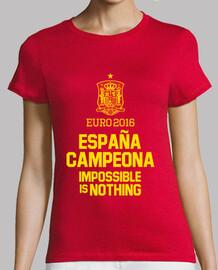 Eurocopa 2016 España Campeona (Mujer)