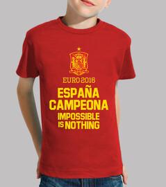 Eurocopa 2016 España Campeona (Niño)