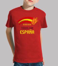Eurocopa 2016 Todos con España (Niño)