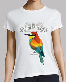 european bee-eater on light