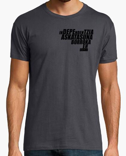 Camiseta EuskalHerria hitzak