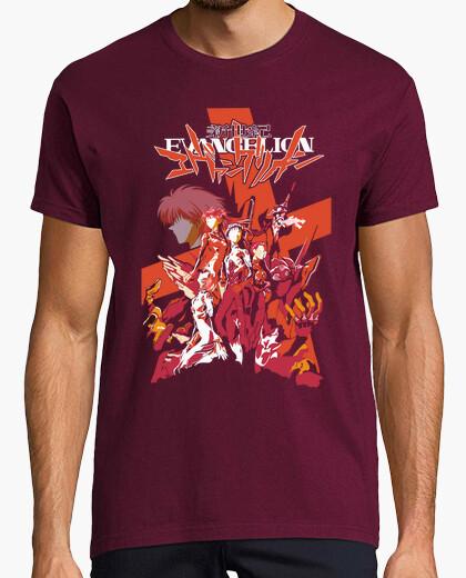 Camiseta Evangelion Death And Reborn