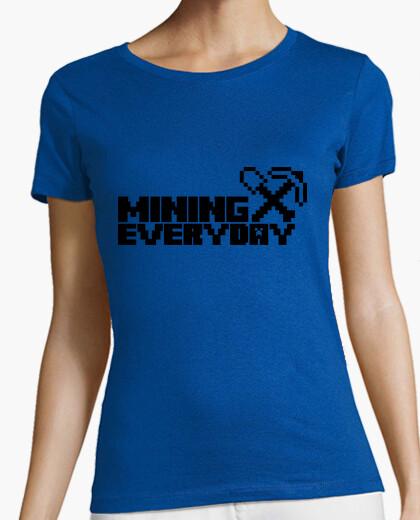 Camiseta Everyday I am mining 1c