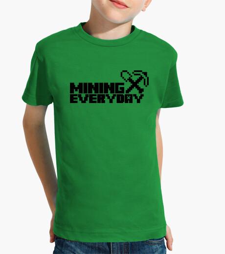 Ropa infantil Everyday I am mining 1c