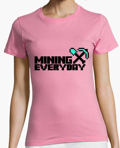 Camiseta Everyday I am mining 2c