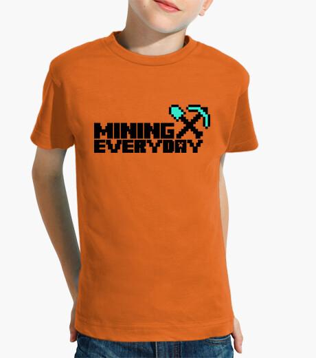Ropa infantil Everyday I am mining 2c