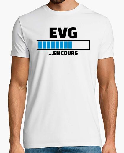 Tee-shirt EVG en cours