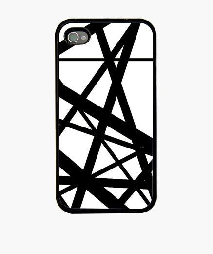 Funda iPhone Evh Stripe White