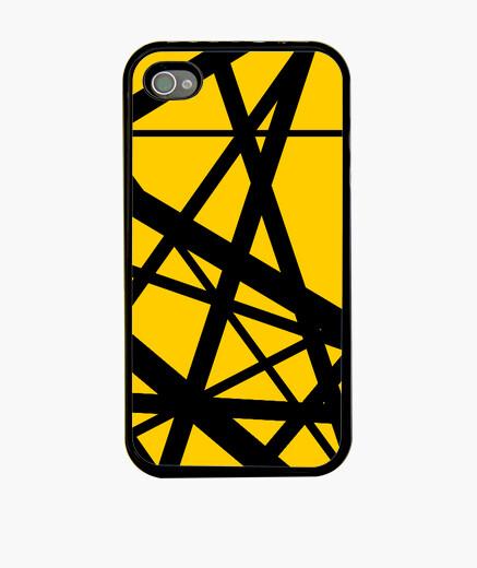 Funda iPhone Evh Stripe Yellow Inverted