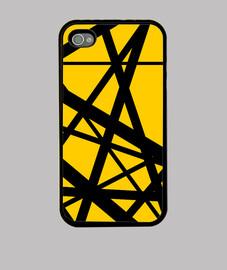 Evh Stripe Yellow Inverted