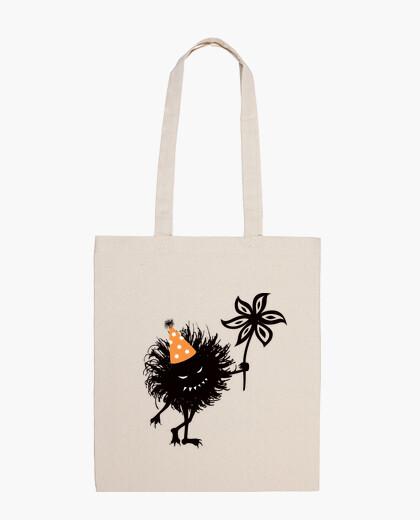 Evil bug throws halloween party bag