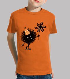 Evil Bug Throws Halloween Party Kids Tee