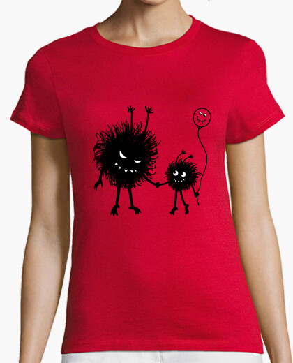 Evil Cartoon Bug Mother And Child t-shirt