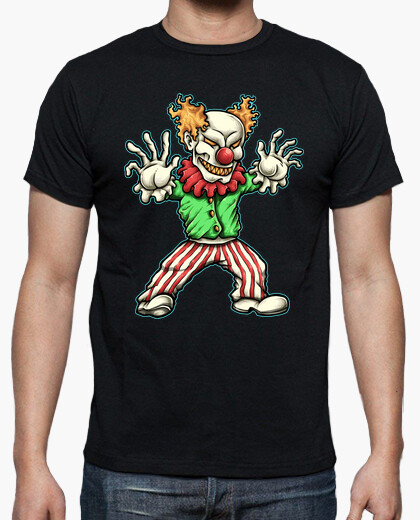 Camiseta Evil Clown - ARTMISETA
