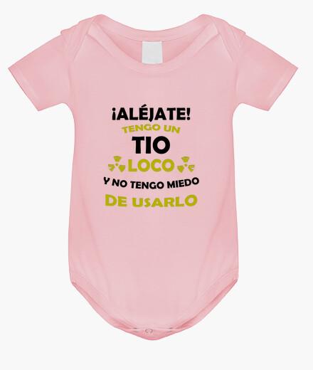 Abbigliamento bambino evitare mio zio è pazzo
