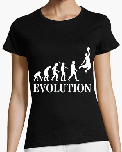 Camiseta evolucion baloncesto