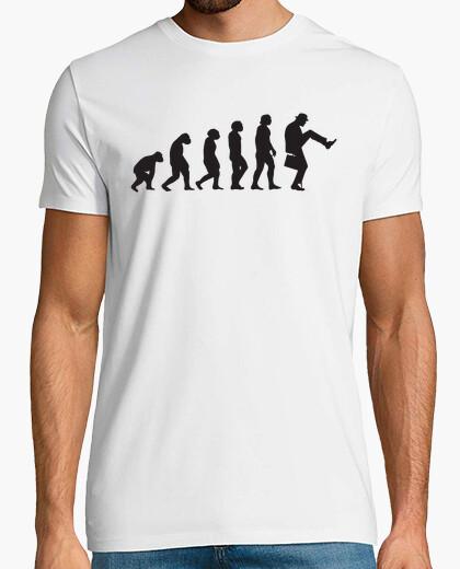 Camiseta evolución caminar